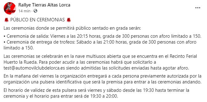 SCER + CERT: 10º Rallye Tierras Altas de Lorca [23-24 Abril] 050239a57bd2c6f5f9e89f06c874516e