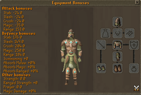 Sagittarian Set Boost - Approved - Simplicity RSPS - Runescape