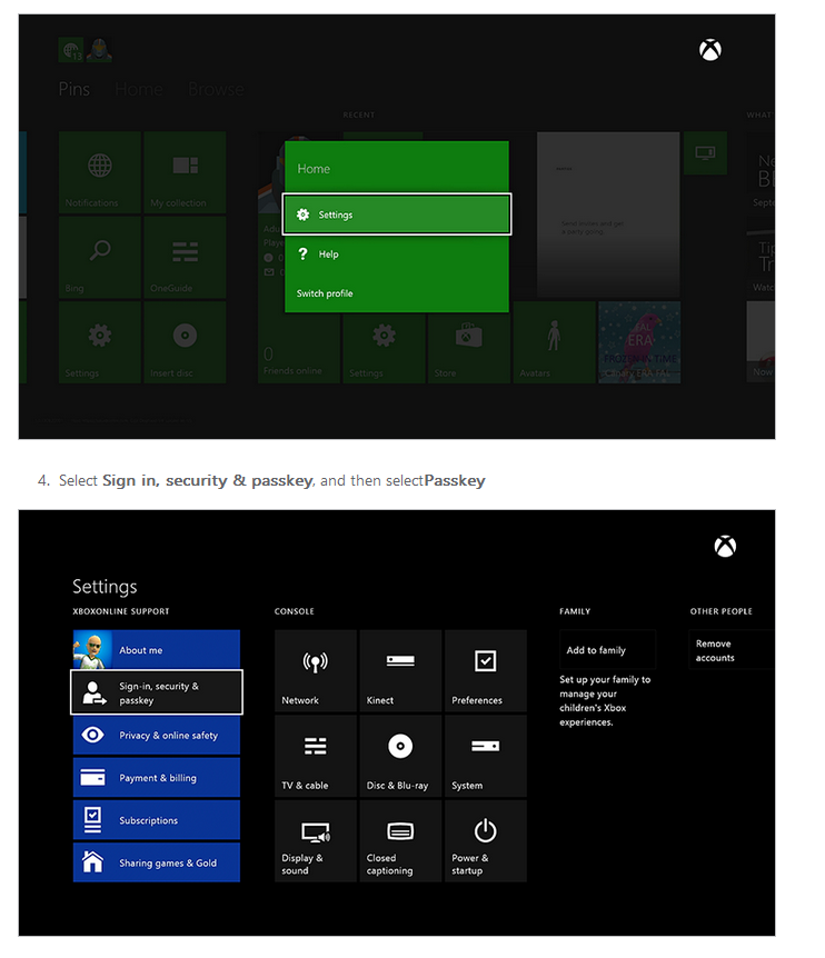 how to turn off family settings on xbox one live