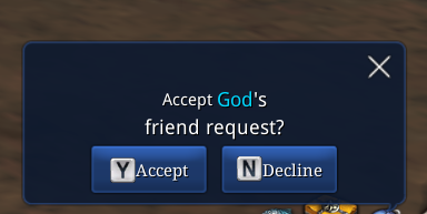 MediaGod Sent Me A Friend Request Guys