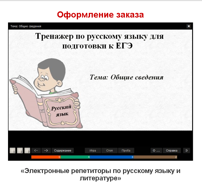 Электронные репетиторы по русскому языку и литературе
