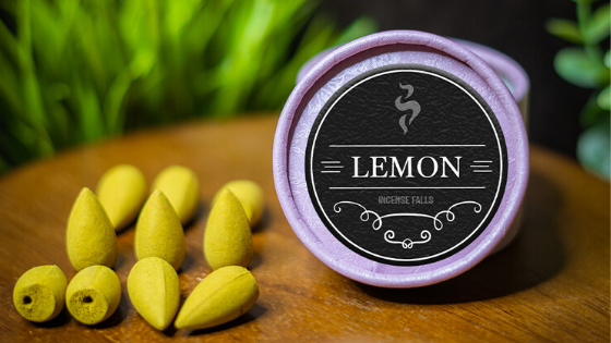 Lemon incense cones for allergies