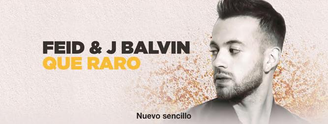 Feid & J Balvin - Que Raro - Single [iTunes Plus AAC M4A + M4V] (2016)