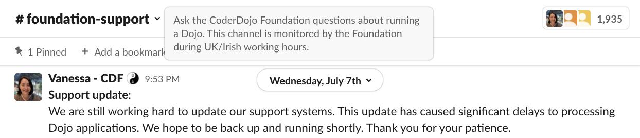 foundation-supportチャンネル