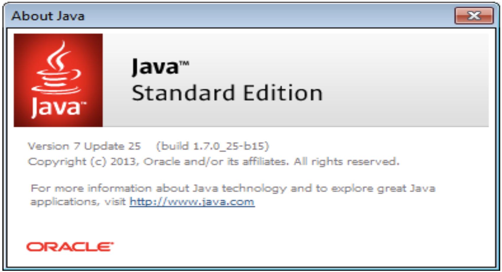 Java Version
