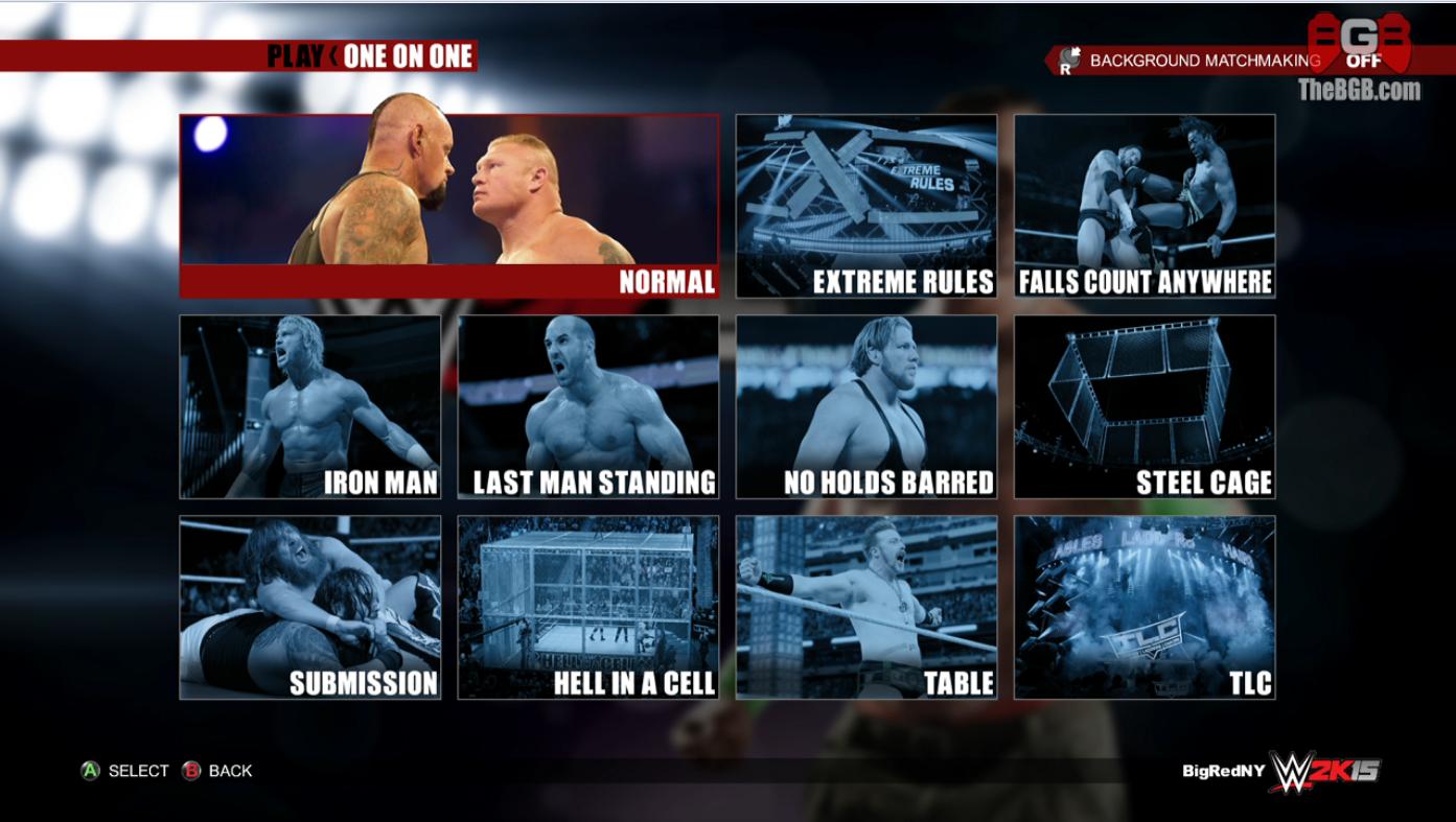 [WWE2K15] Liste des stipulations DISPONIBLE 0a98efae3049003d541171e5a5e1bbf0