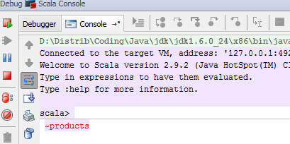 Developers - sbt console history interferes with intellij