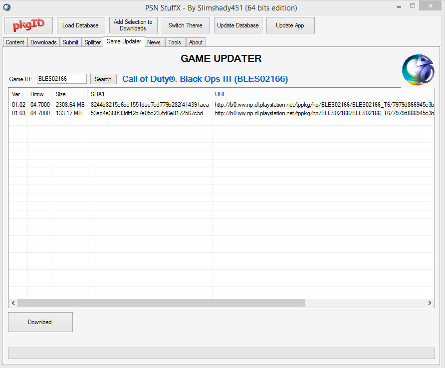 Program - Awesome Update Finder & PSNSTUFF PLUS X | Radical Exploits