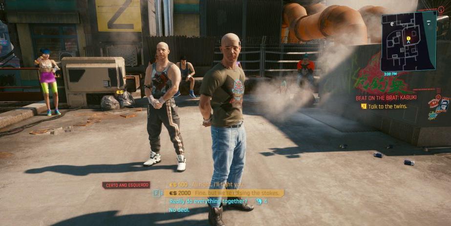 cyberpunk 2077 beat on the brat side quest guide
