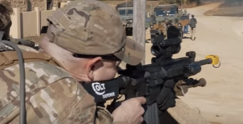 A taste of MilSim West's Defense at Grozny (airsoft
