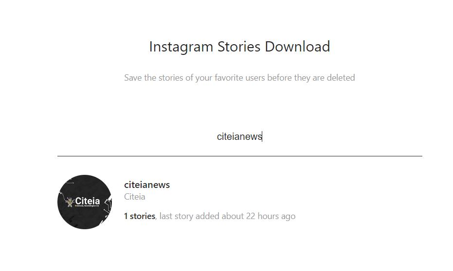 storiesig como funciona