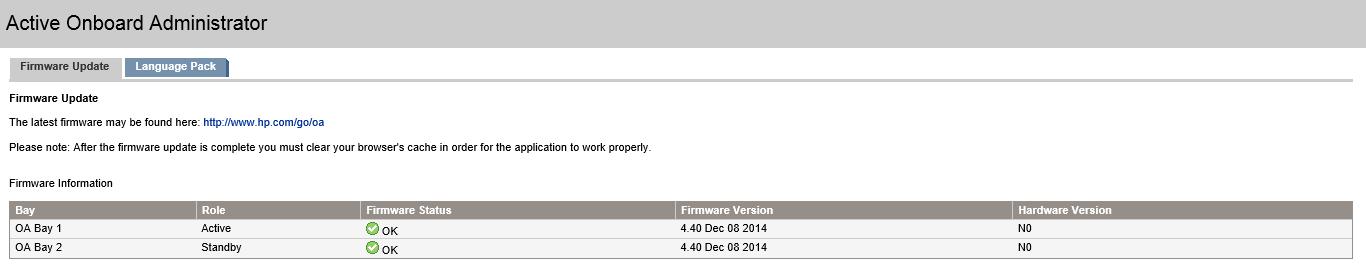 OA Firmware