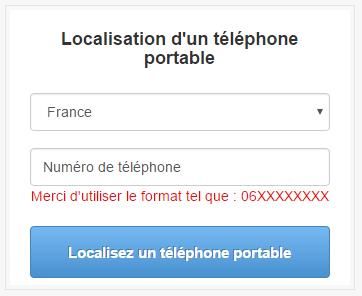 localisation dun numero de mobile
