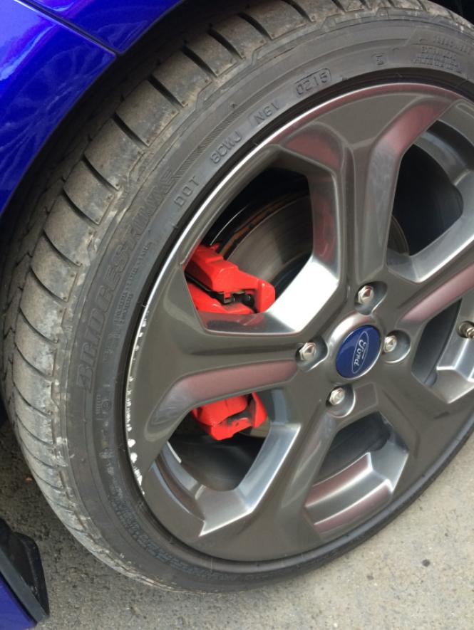 Fordclubbe Velg 2015 Fiesta St Beschadigd Tips