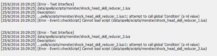 Error en monster script 119e4e19a165685f848c69c66bc48504