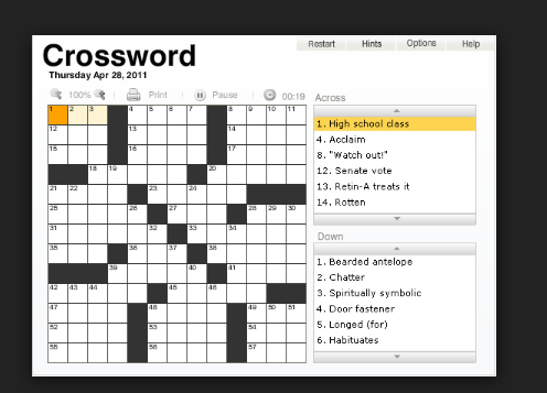 Usage of Quote themes and other attribute themes in crossword ...