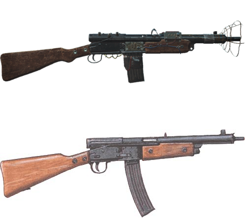 Radium Rifle and Volksturmgewehr have great similarity