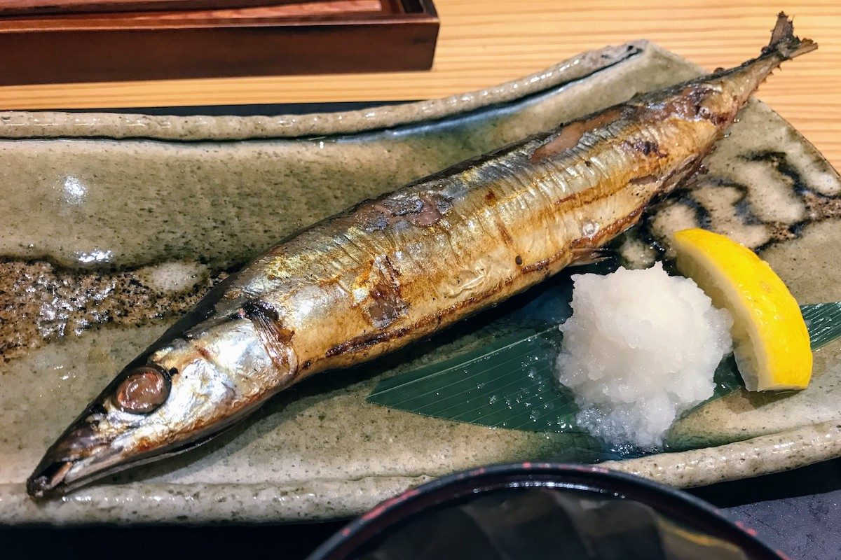 ウィング川崎 やまや 秋刀魚