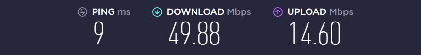 Internetgeschwindigkeit auf meinem Laptop (2019 gekauft)