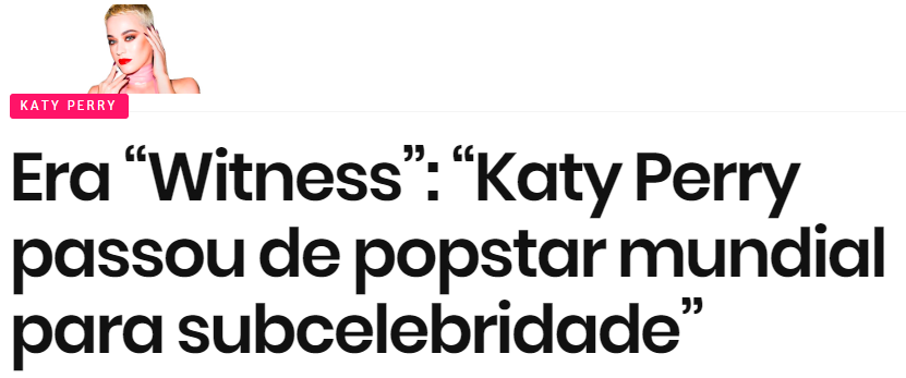 Image result for katy perry witness fracasso pandlr