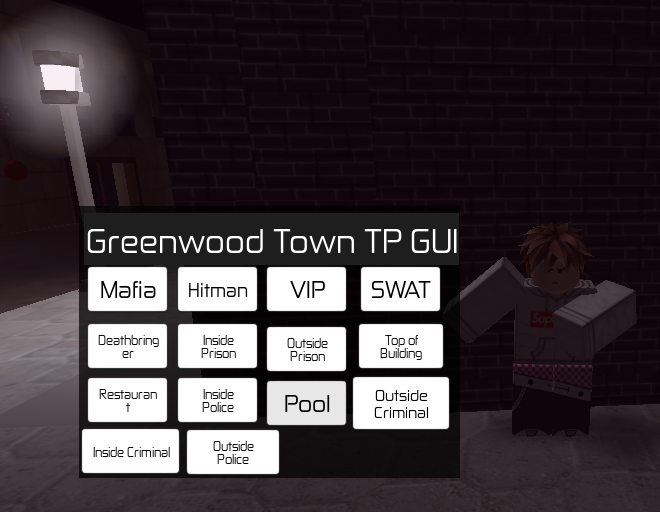 Release] Greenwood Town GUI (Bypass gamepasses, more)