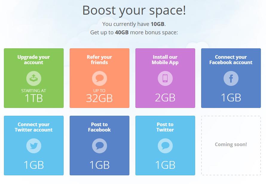 MediaFire Free Storage