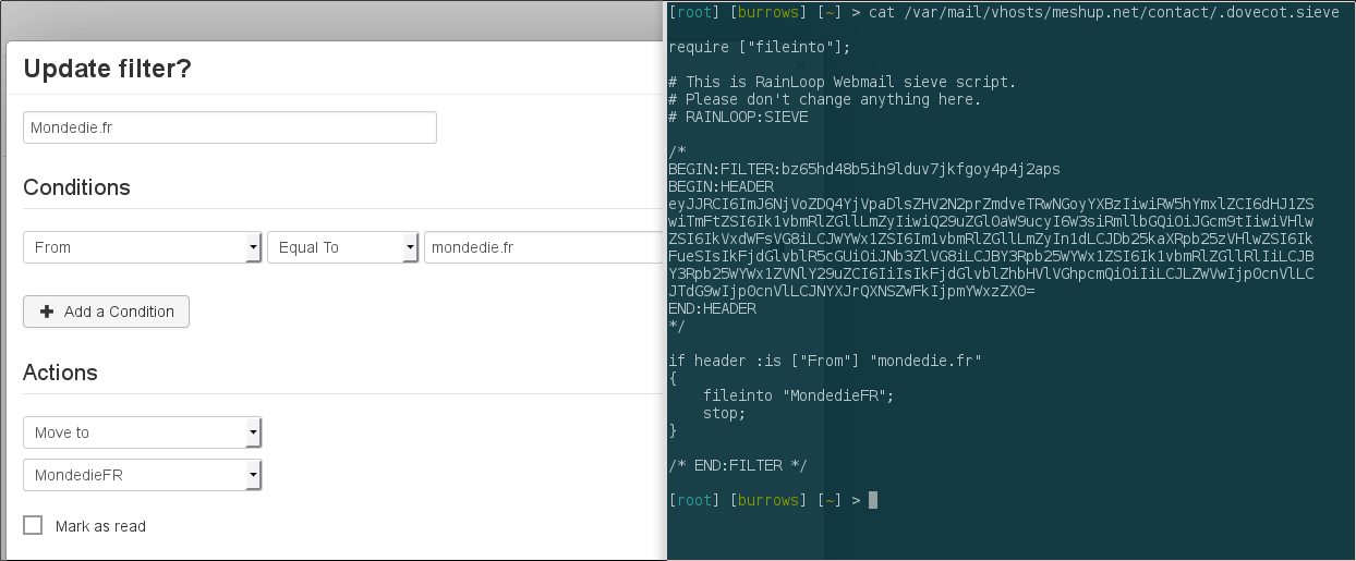 Tuto] Installer un serveur de mail avec Postfix, Dovecot et