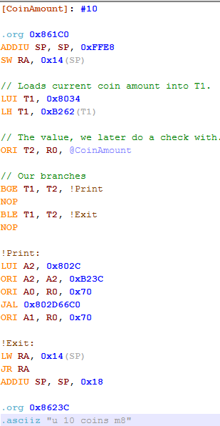 CajeASM - MIPS R4300i Assembler for N64 - Project64 Forums