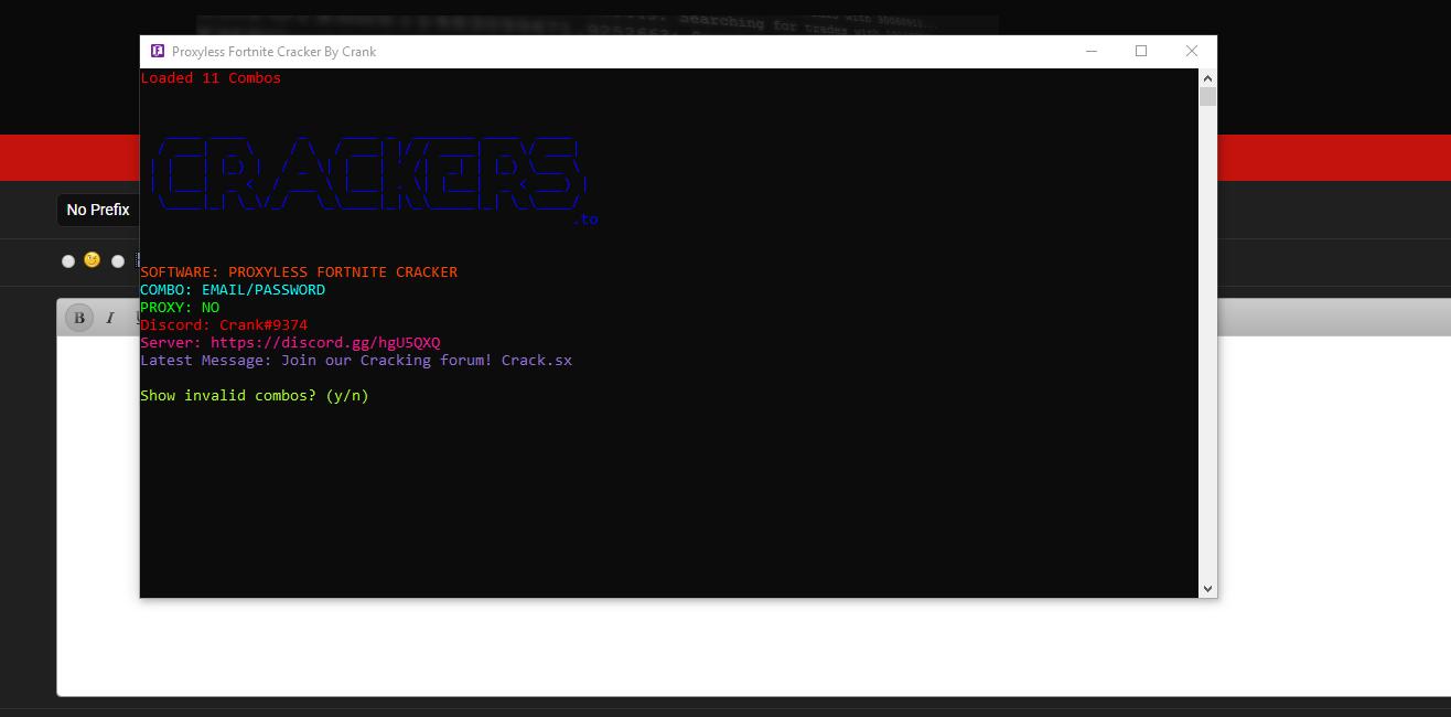 R] HQ Proxyless Fortnite Checker | 10k+ CPM | 1k+ Threads |
