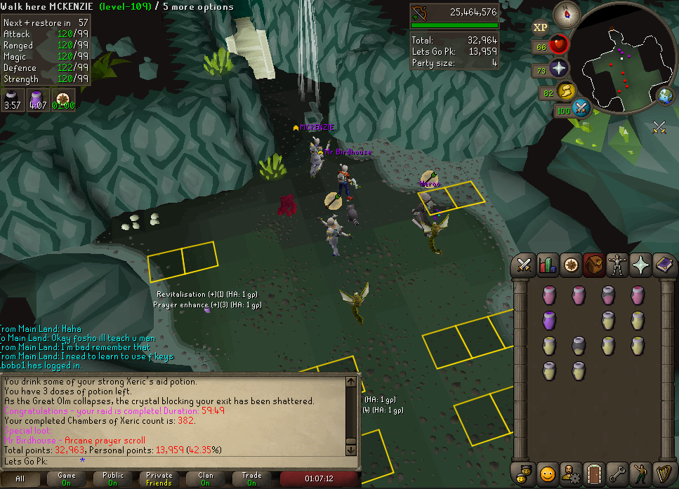 Paragon Chambers of Xeric DROPS