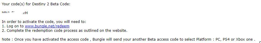 Destiny 2 Beta Keys (0 99$) - Page 2