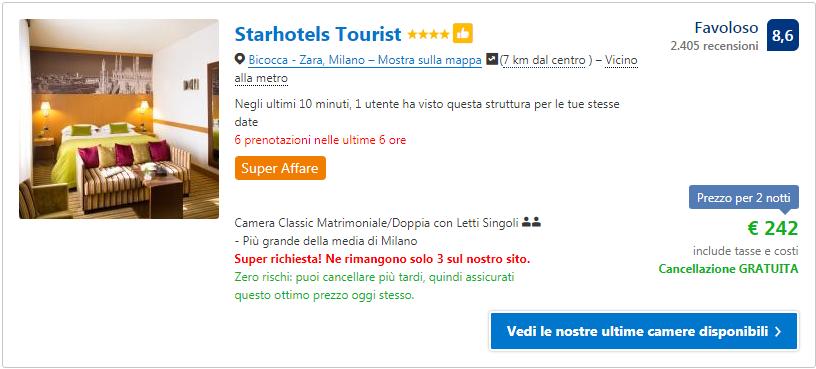 Hotel Milano Offerte