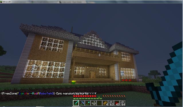 Kurtis' EPIC mansion 184a598677067948bf8a6d0dba2bcd89