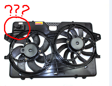 What Is This On Cooling Fan Ford Escape