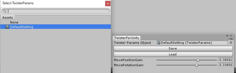 Twister Params