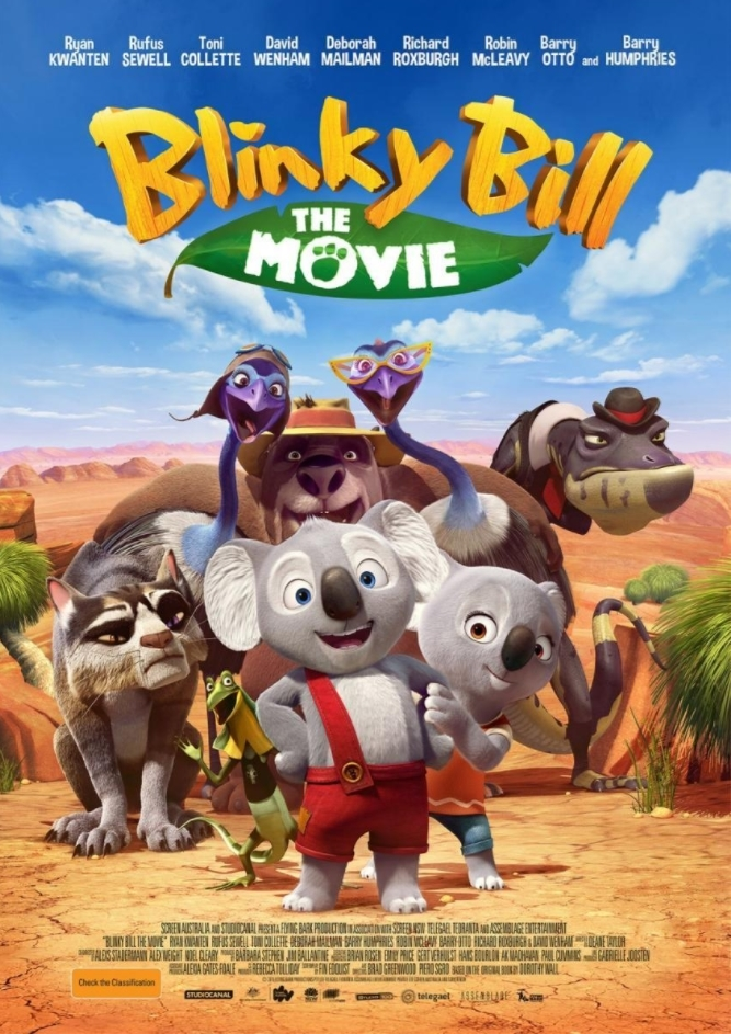 Blinky Bill, el koala