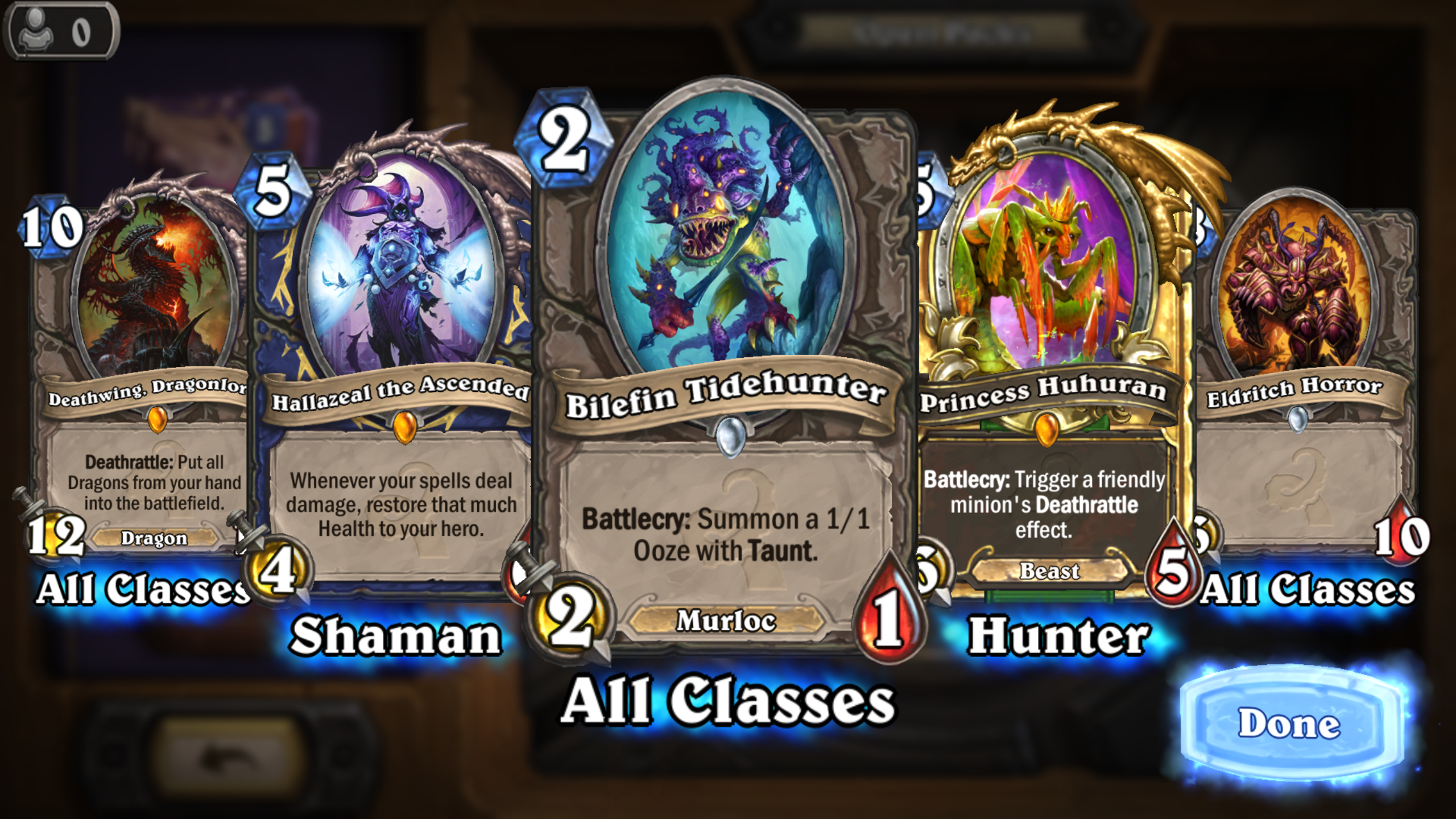 OT: How rare is it to open a pack like this in Hearthstone