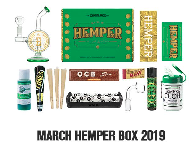 Hemper's March 2019 Box