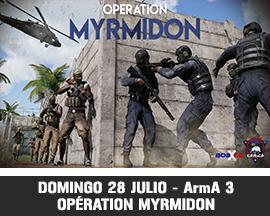 Myrmidon caja