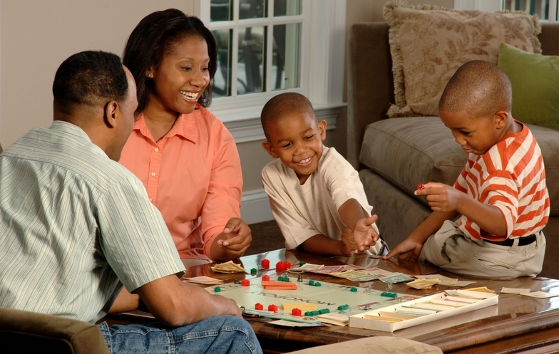 Physical toys and board games are better plaything alternatives for your kids. These will help you regulate the use of touchscreen devices. (Image source: Wikimedia Commons)