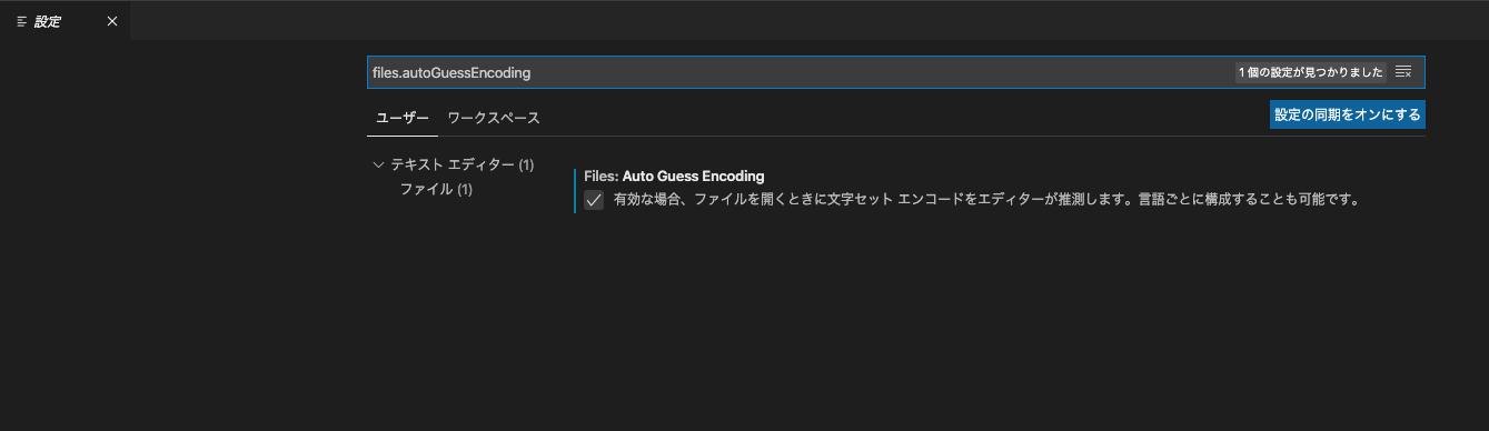 vscode setting ss