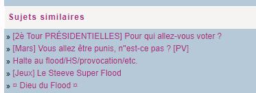 [Flood] Rp, voter, flooder, allez !  - Page 3 1e1c6b2496b70aeb917240904c9e8f98