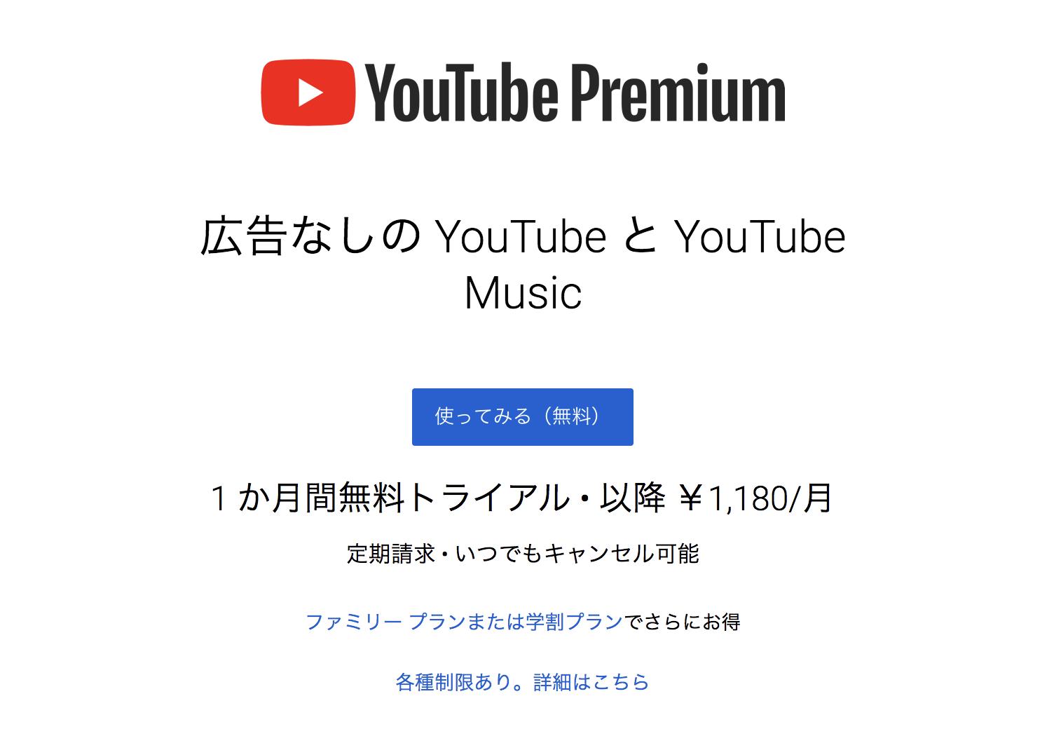 表示 youtube 広告 非