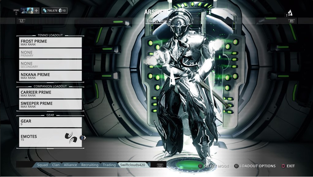 Anyone Have Any Good Frost Prime Color Schemes? - Players