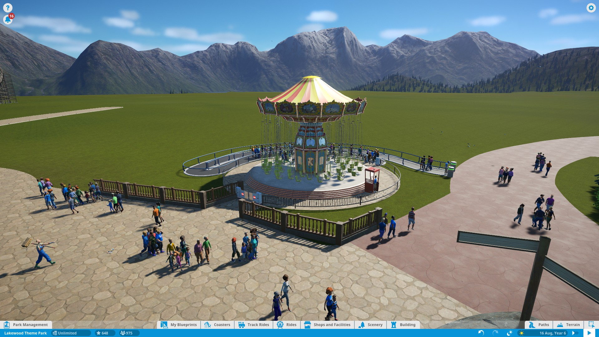 how to make path not stairs planet coaster