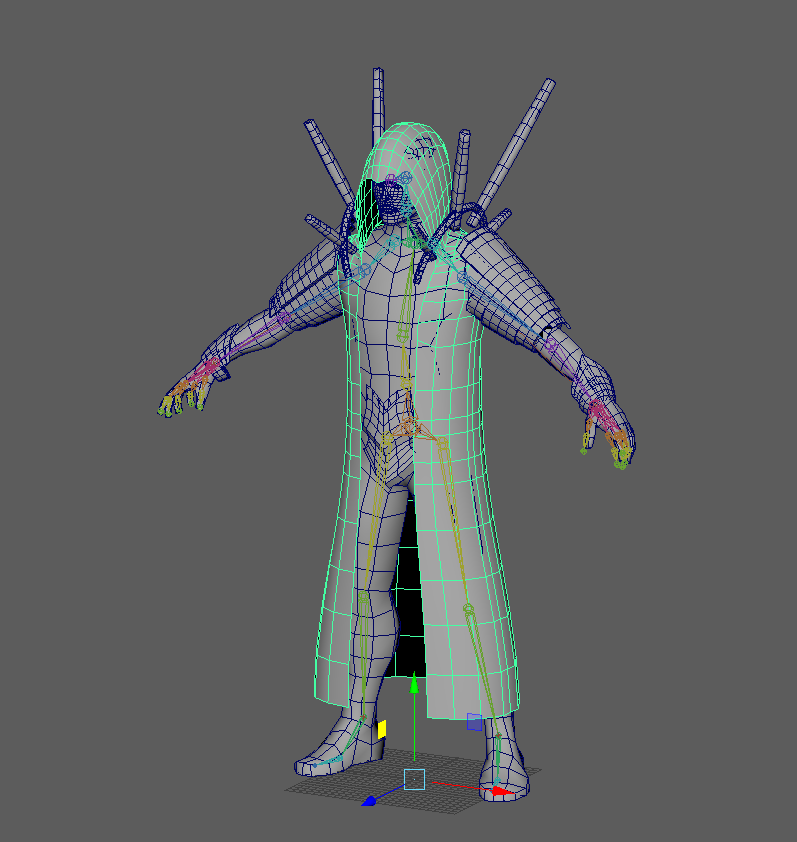 How would I make Unity cloth move properly with an animated