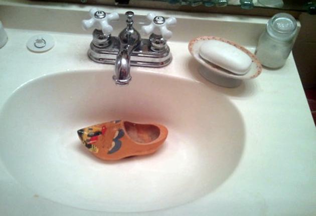 Pics Clogged Sink