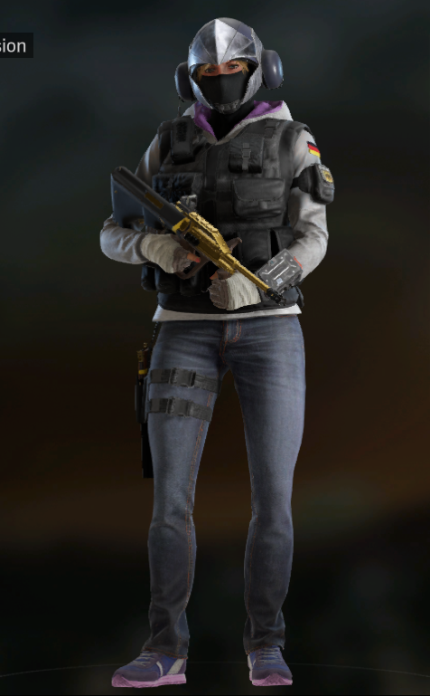 Do we have to sexy up the win/character poses? : Rainbow6