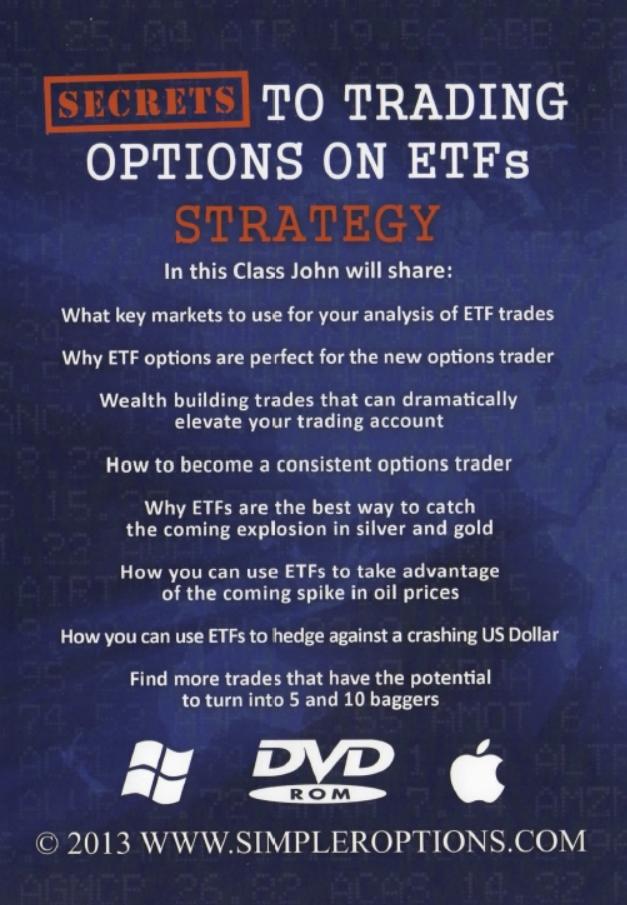 John carter trading etf options