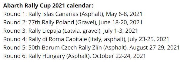 FIA European Rally Championship: Temporada 2021 - Página 2 2355d0e14021e72dce72c4ddad4d6463